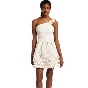 bcbgmaxazria Quinby Floral Appliqué Dress